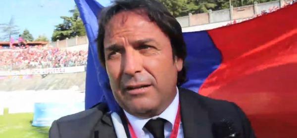 Il presidente rossoblù, Corrado Chiodi