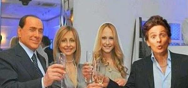 Fiorello e Silvio Berlusconi