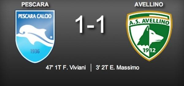 Pescara Avellino 1-1