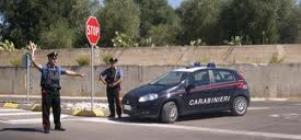 Posto controllo Carabinieri