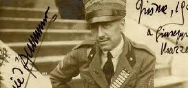 Gabriele D'Annunzio poeta-soldato