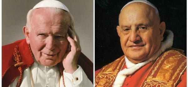 Papa Wojtyla e Roncalli