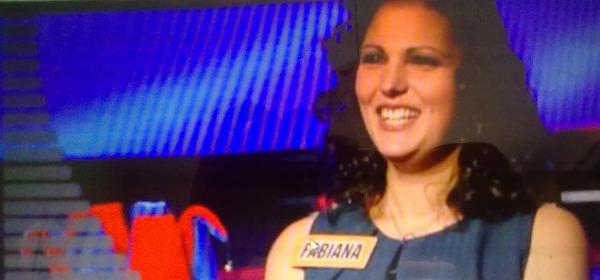 Fabiana Carosi all'Eredità su Rai Uno