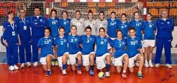 La nazionale italiana femminile di pallamano
