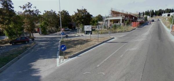 foto incrocio da Google Map all'atto della costruzione dell'ufficio Postale