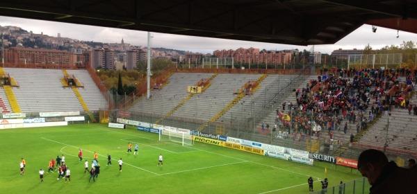 Stadio Curi di Perugia, settore ospiti