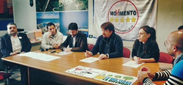 M5S Teramo con il deputato Gianluca Vacca