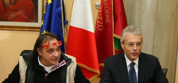 Gianni Chiodi e Gianfranco Giuliante