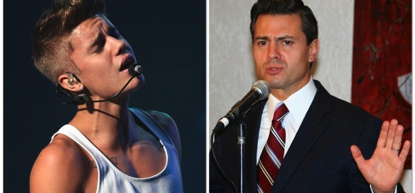 Justin Bieber - Enrique Peña Nieto