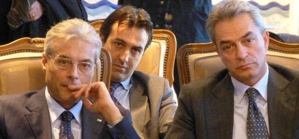 Gianni Chiodi, Paolo Gatti e Nazario Pagano