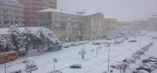 Lanciano neve
