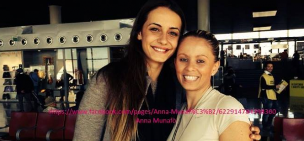 Anna Munafò e Rossella