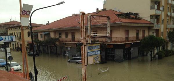 Inondazione Pescara