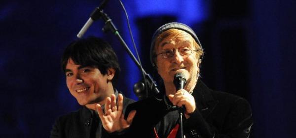 Lucio Dalla e Marco Alemanno
