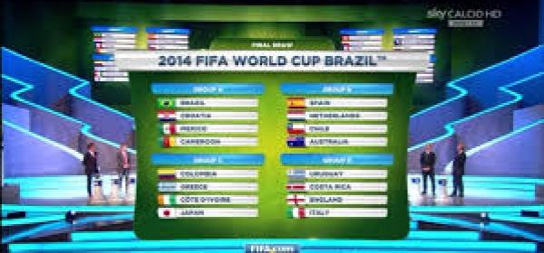 I gironi di Brasile 2014