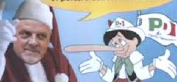 """""""Babbo Natale """" Brucchi ammonisce il """"Pinocchio"""" PD"""