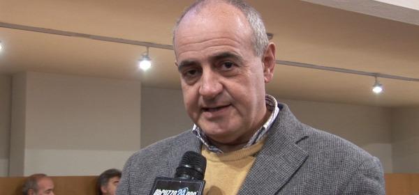 Il presidente del Parco, Simone Angelosante