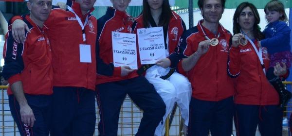Il team abruzzese ai Campionati nazionali di taekwondo poomse
