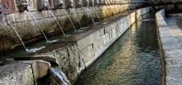 L'Aquila - fontana  99 cannelle