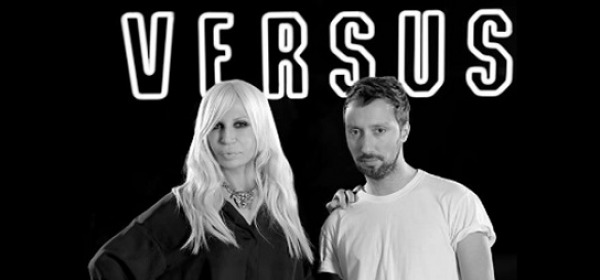 Donatella Versace ed Anthony Vaccarello