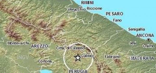 Sciame sismico Gubbio (Pg)