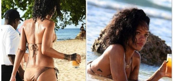 Rihanna bikini hot