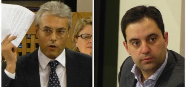 Gianni Chiodi e Camillo D'Alessandro