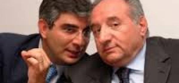 Luciano D'Alfonso e Carlo Toto