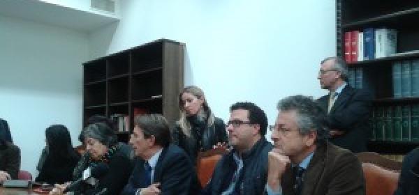Conferenza stampa della Giunta