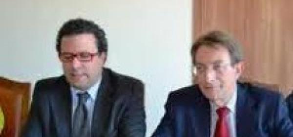 Roberto Riga e Massimo Cialente