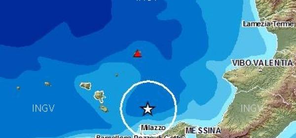 isole lipari scossa