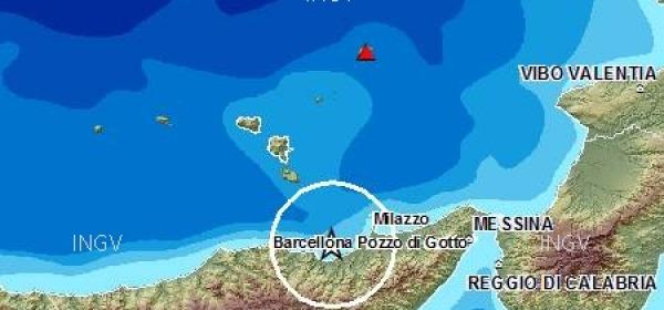 scossa Messina