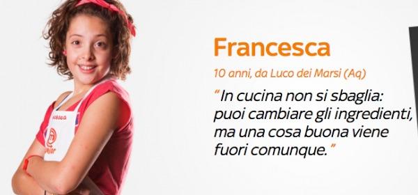 Francesca Junior Masterchef