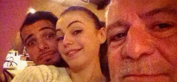 Alessia Cammarota, Aldo Palmeri ed il padre