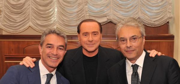 Nazario Pagano, Silvio Berlusconi e Gianni Chiodi