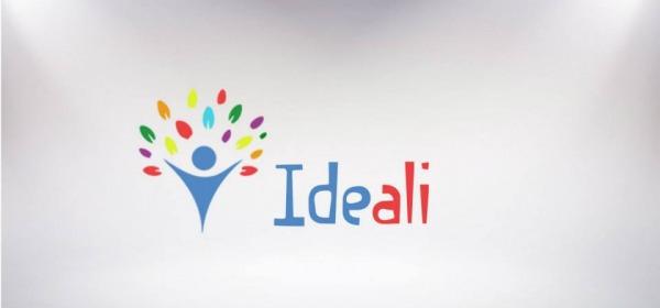 """Il logo dell'associazione """"Ideali"""""""