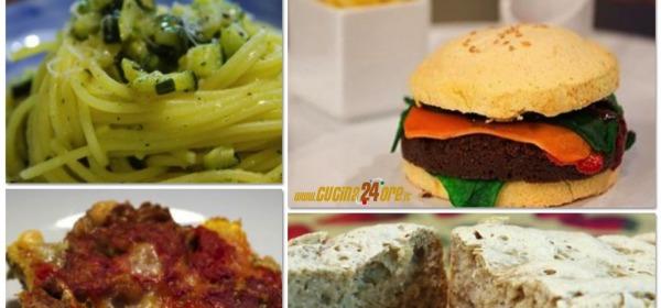 Spaghetti, pane, carciofi e...il dolce