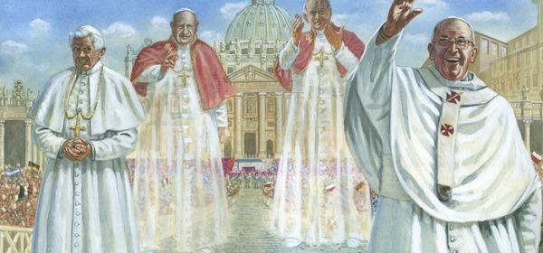 Il giorno dei 4 Papi