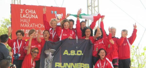 I Runners Chieti in Sardegna