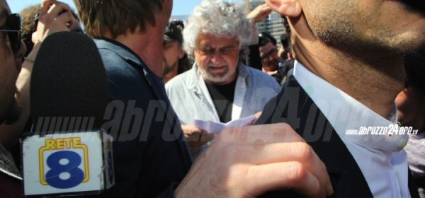 Beppe Grillo a Pescara