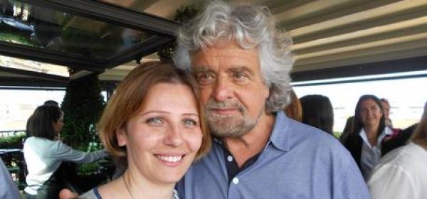 Daniela Aiuto e Beppe Grillo