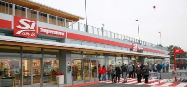 """Il supermercato """"Si"""" di Brecciarola"""