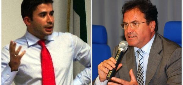 Silvio Paolucci (PD) e Mauro Febbo (FI)