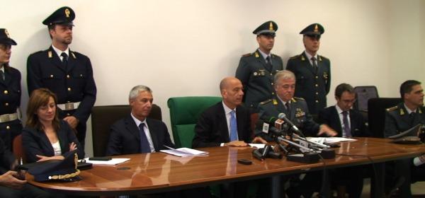 """""""Operazione Betrayal"""" la conferenza stampa"""