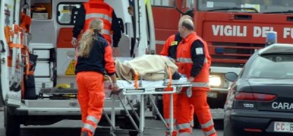 Ambulanza incidente centauro