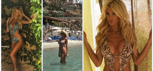 victoria silvstedt, animal inspiration