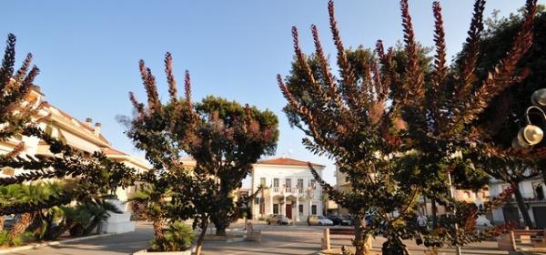 Piazza IV Novembre di Alba Adriatica