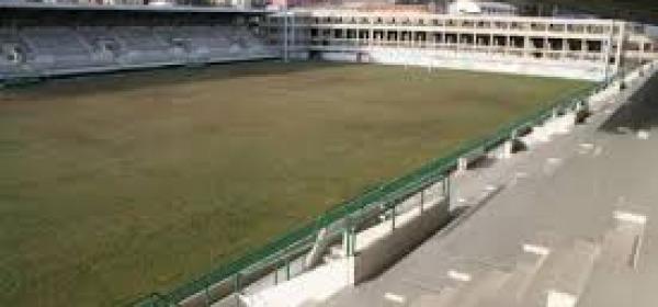 Lo stadio in realizzazione ad Acquasanta