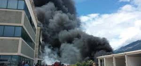 Incendio Adria gomme