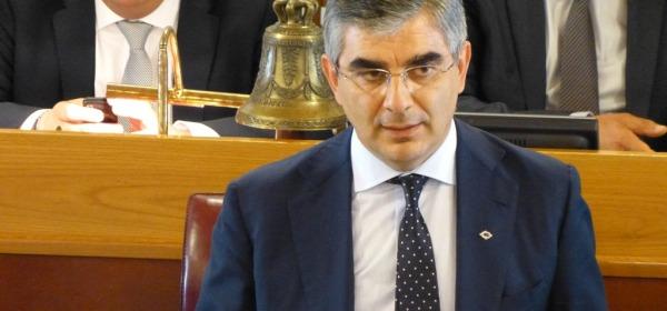 Il Presidente della Regione Abruzzo, Luciano D'Alfonso